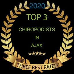 Top 3 chiropodists in ajax